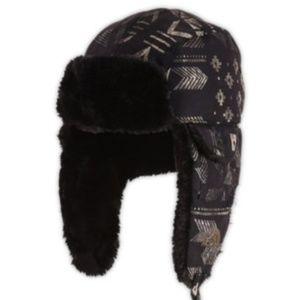 The North Face Snow Hat Beanie Navajo Indian Flap